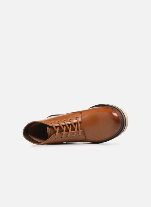 Boots en enkellaarsjes Clarks Frelan Mid Bruin links