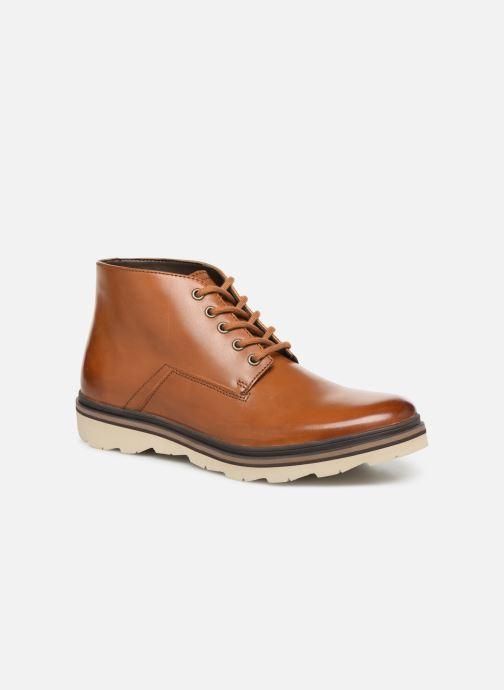 Bottines et boots Clarks Frelan Mid Marron vue détail/paire