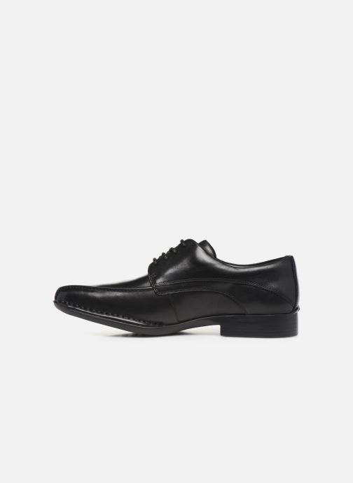 Chaussures à lacets Clarks Francis Lace Noir vue face