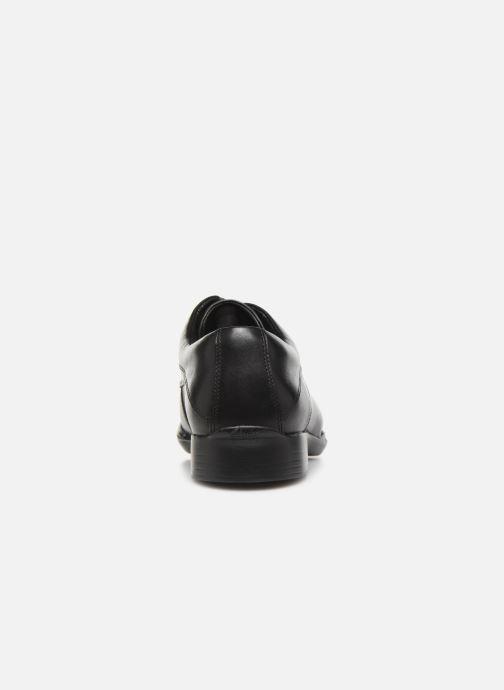 Chaussures à lacets Clarks Francis Lace Noir vue droite