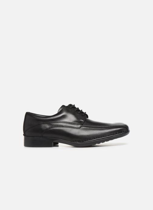 Chaussures à lacets Clarks Francis Lace Noir vue derrière