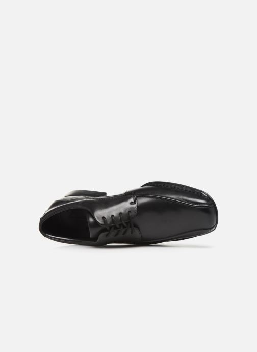Lace-up shoes Clarks Francis Lace Black view from the left