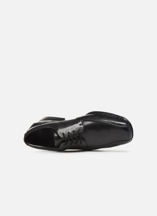 Chaussures à lacets Clarks Francis Lace Noir vue gauche