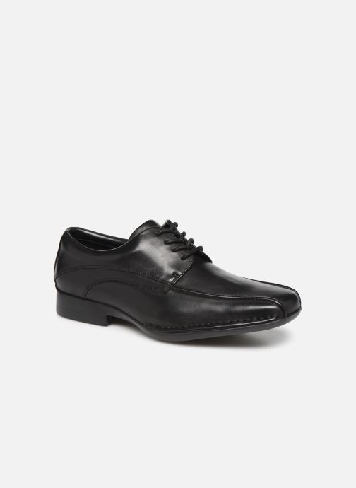 Lace-up shoes Clarks Francis Lace Black detailed view/ Pair view