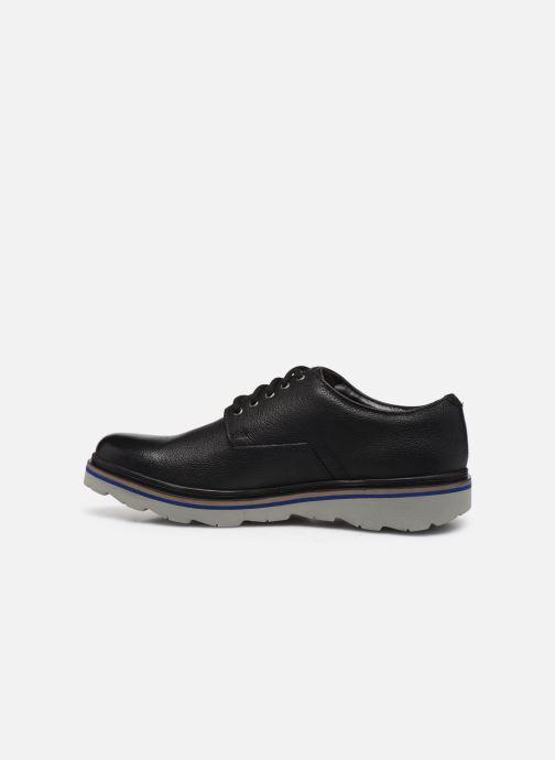 Chaussures à lacets Clarks Frelan Edge Noir vue face