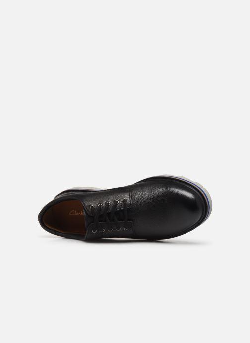 Zapatos con cordones Clarks Frelan Edge Negro vista lateral izquierda