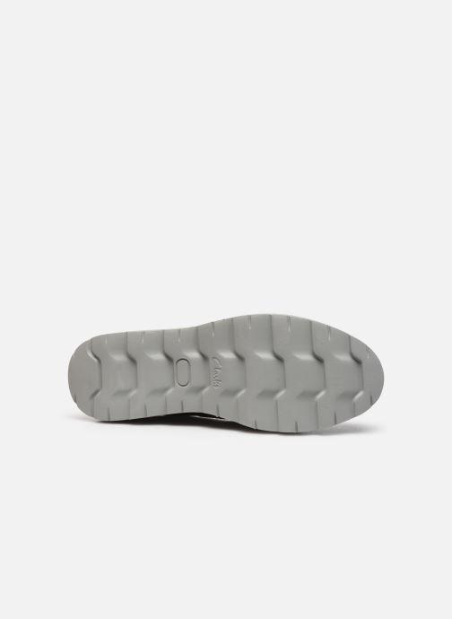 Chaussures à lacets Clarks Frelan Edge Noir vue haut