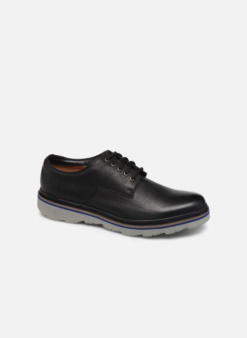 Chaussures à lacets Clarks Frelan Edge Noir vue détail/paire