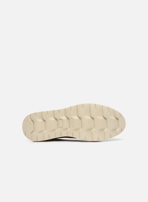 Zapatos con cordones Clarks Frelan Edge Beige vista de arriba