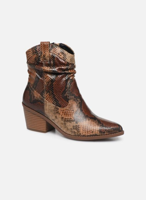 Ankle boots I Love Shoes THOTTE Brown detailed view/ Pair view