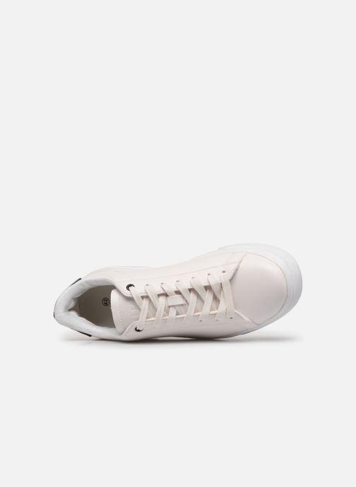 Sneaker I Love Shoes THODOU weiß ansicht von links