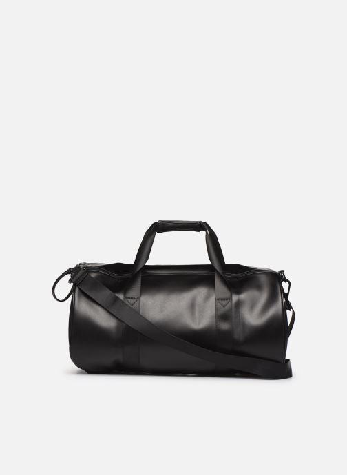 Sacs de sport Fred Perry Embossed Barrel Bag Noir vue face