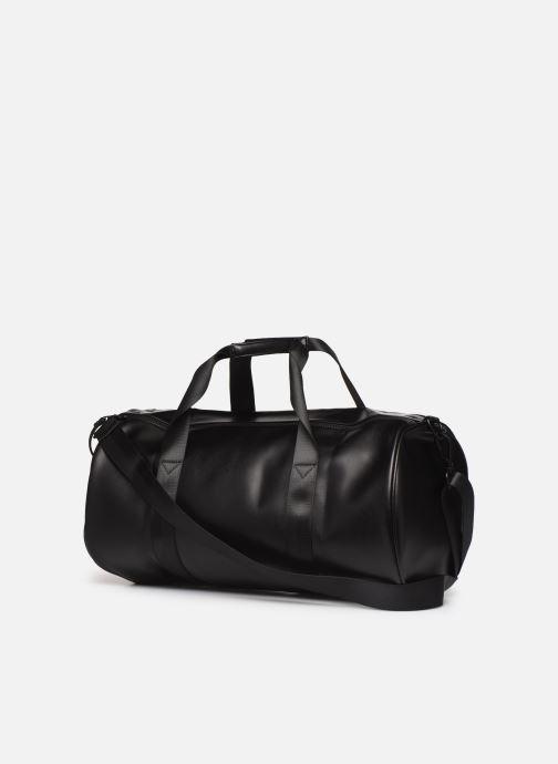 Sacs de sport Fred Perry Embossed Barrel Bag Noir vue droite