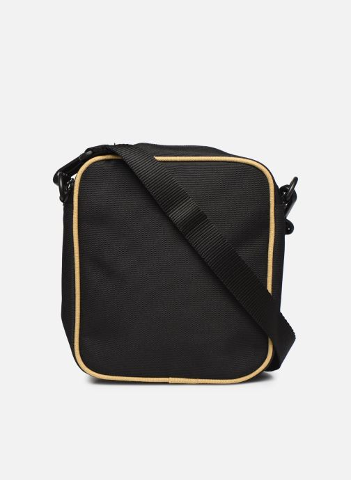 Sacs homme Fred Perry TWIN TIPPED SIDE BAG Noir vue face