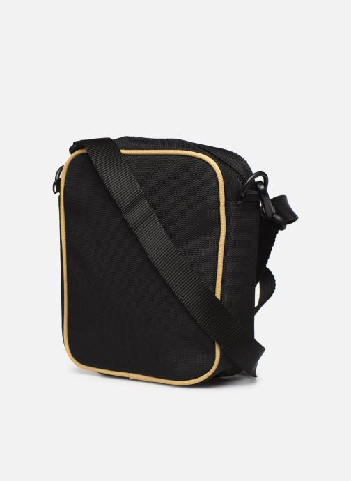 Sacs homme Fred Perry TWIN TIPPED SIDE BAG Noir vue droite