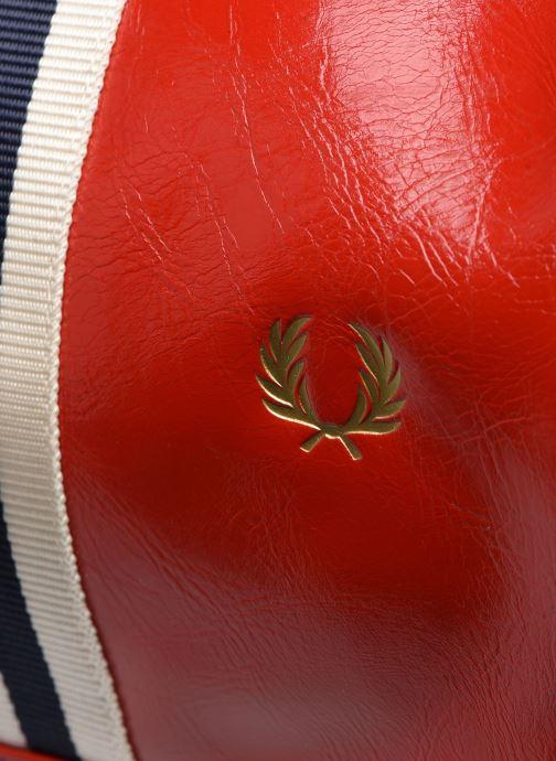 Sacs de sport Fred Perry COLOUR BLOCK CLASSIC BRL BAG Rouge vue gauche