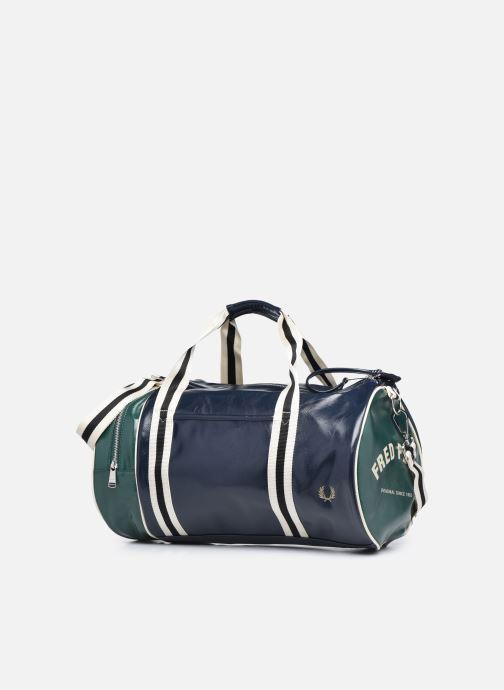 Bagages Fred Perry COLOUR BLOCK CLASSIC BRL BAG Bleu vue portées chaussures