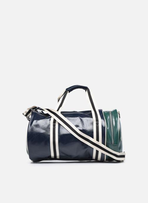 Bagages Fred Perry COLOUR BLOCK CLASSIC BRL BAG Bleu vue face