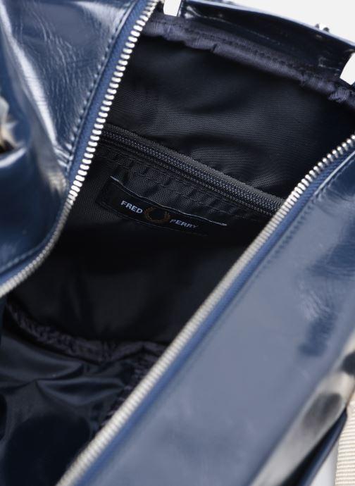Bagages Fred Perry COLOUR BLOCK CLASSIC BRL BAG Bleu vue derrière