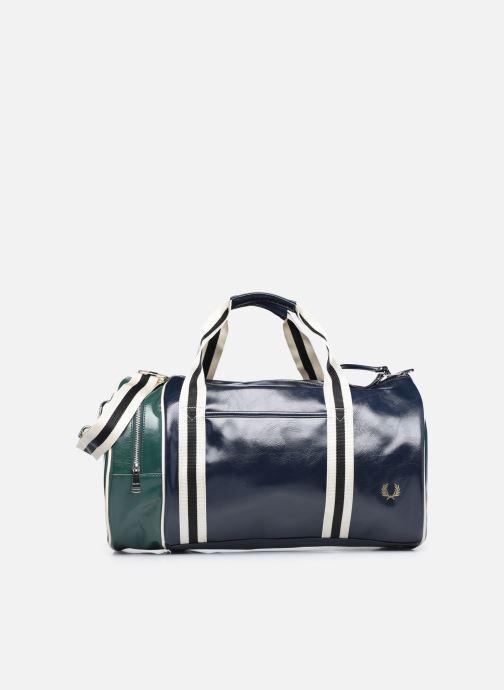 Bagages Fred Perry COLOUR BLOCK CLASSIC BRL BAG Bleu vue détail/paire