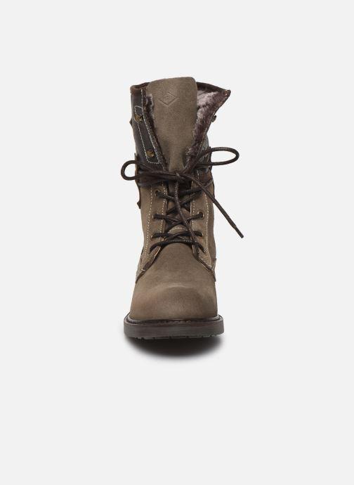 Bottines et boots P-L-D-M By Palladium Bupswing Crt Marron vue portées chaussures