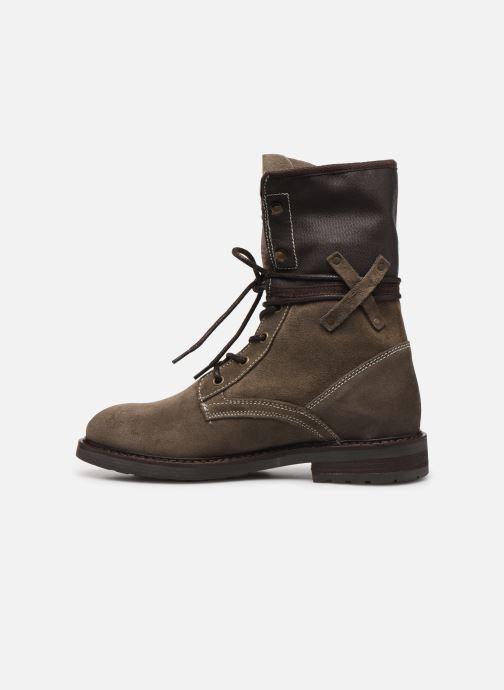Bottines et boots P-L-D-M By Palladium Bupswing Crt Marron vue face