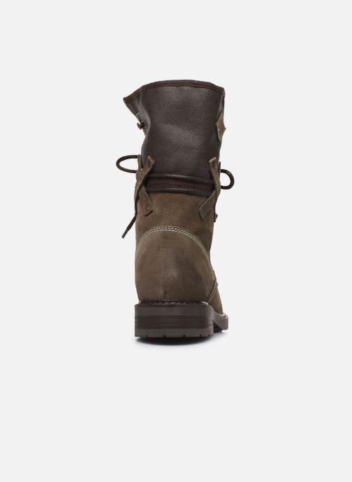 Bottines et boots P-L-D-M By Palladium Bupswing Crt Marron vue droite