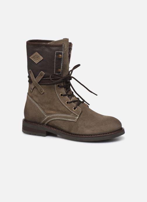 Bottines et boots P-L-D-M By Palladium Bupswing Crt Marron vue détail/paire