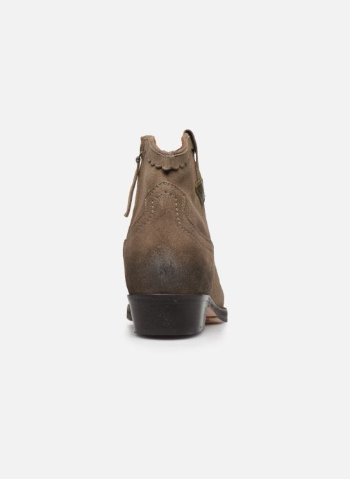 Ankle boots P-L-D-M By Palladium Walkyrie Sud Grey view from the right