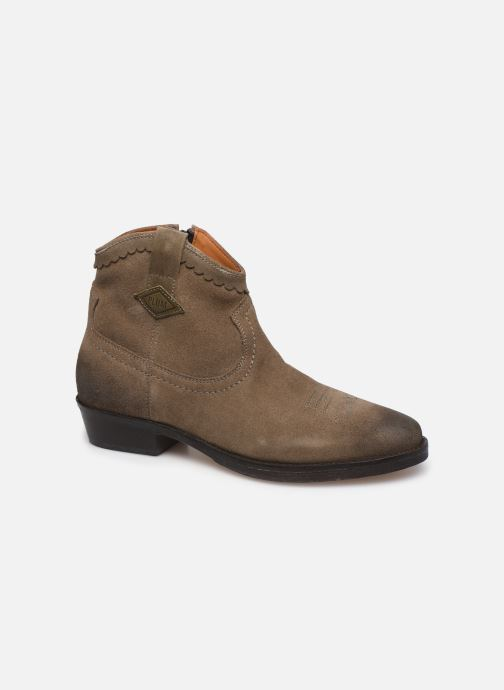 Bottines et boots P-L-D-M By Palladium Walkyrie Sud Gris vue détail/paire