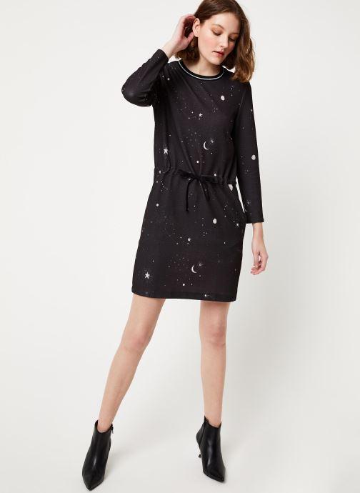 Vêtements Kanopé ROBE ELIANE ETOILE Noir vue bas / vue portée sac