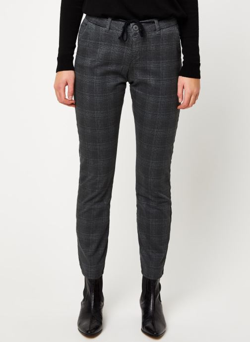 Pantalon droit - PANTALON DALHIA CARREAUX