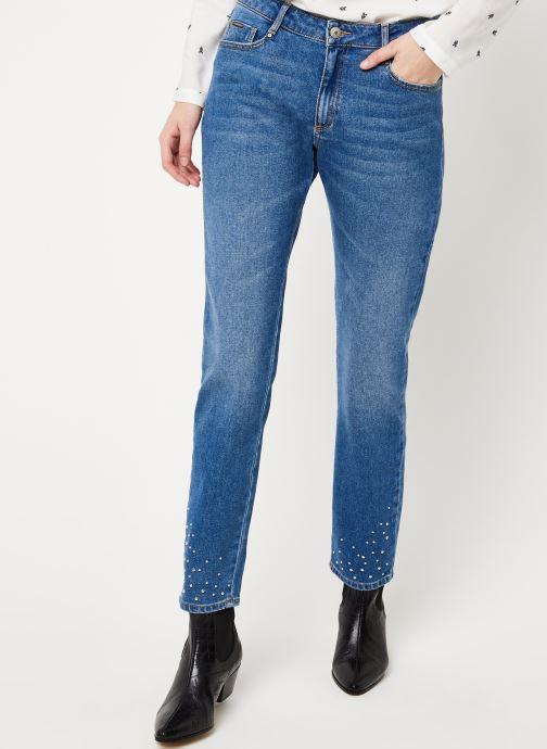 Vêtements Kanopé JEAN SUZANNE DENIM CLOUS Bleu vue détail/paire