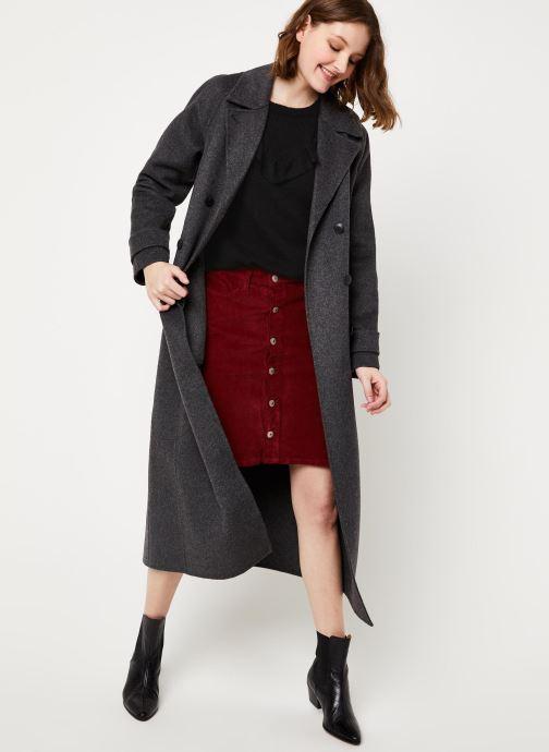 Vêtements Kanopé PULL MARINA Noir vue bas / vue portée sac
