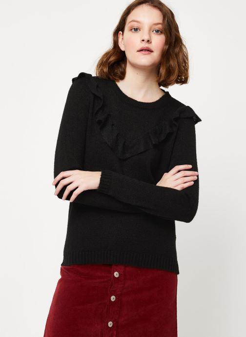 Vêtements Kanopé PULL MARINA Noir vue droite