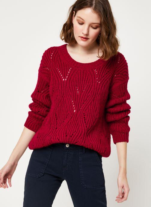 Vêtements Kanopé PULL VIVIANE Rouge vue détail/paire