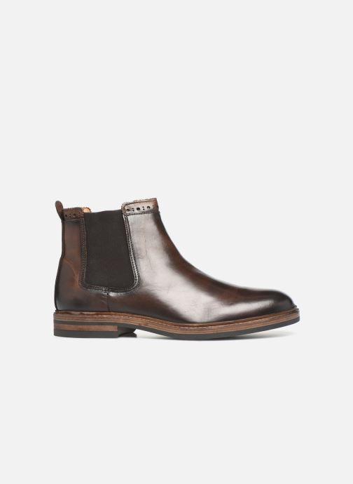 Bottines et boots Sebago Chelsea Fgl Marron vue derrière