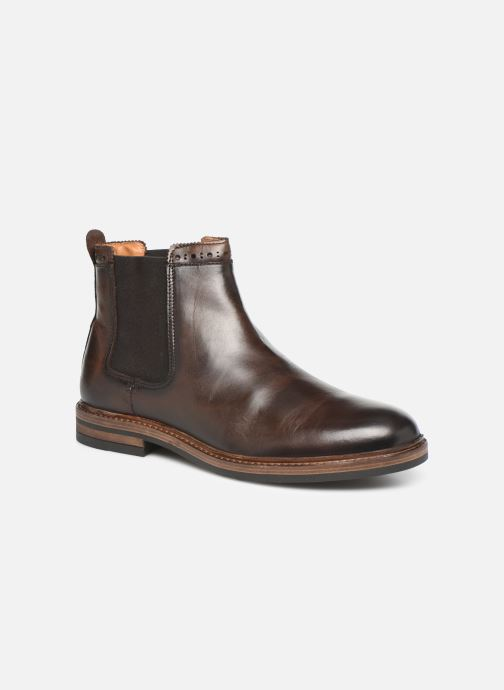 Bottines et boots Sebago Chelsea Fgl Marron vue détail/paire