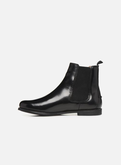 Bottines et boots Sebago Chelsea Plaza Noir vue face