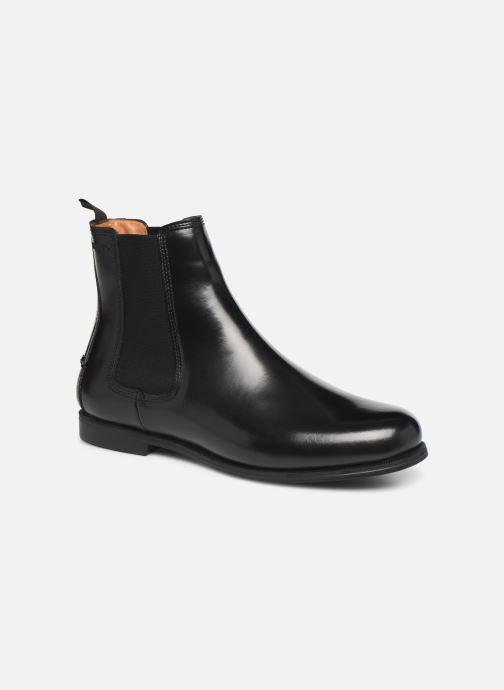 Bottines et boots Sebago Chelsea Plaza Noir vue détail/paire