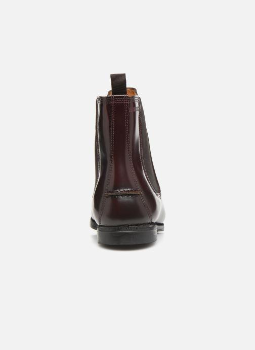 Bottines et boots Sebago Chelsea Plaza Bordeaux vue droite
