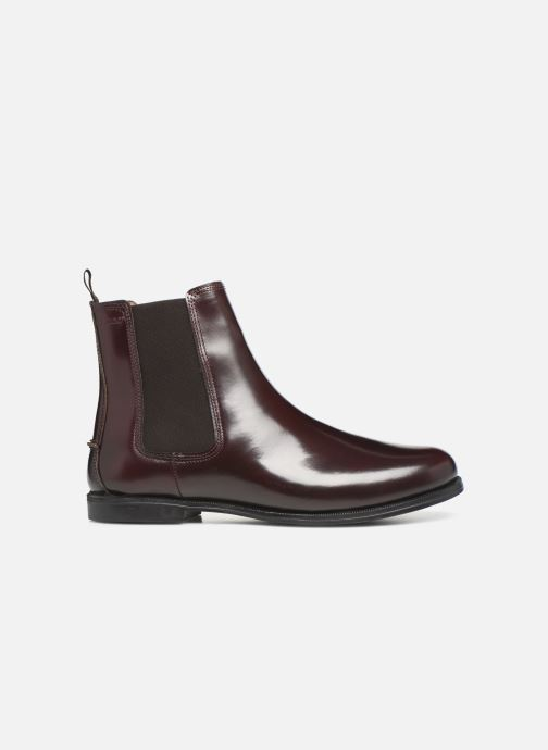 Ankle boots Sebago Chelsea Plaza Burgundy back view