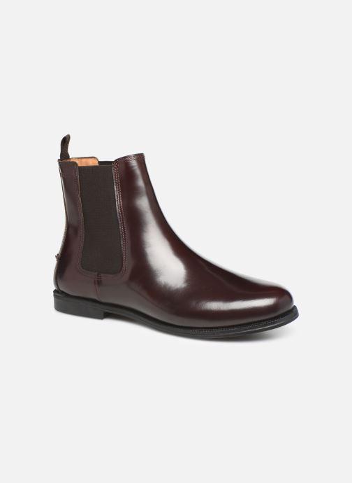 Bottines et boots Sebago Chelsea Plaza Bordeaux vue détail/paire