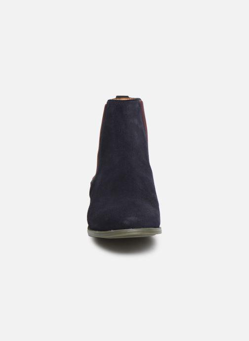 Bottines et boots Sebago Chelsea Plaza Ii Suede W Bleu vue portées chaussures