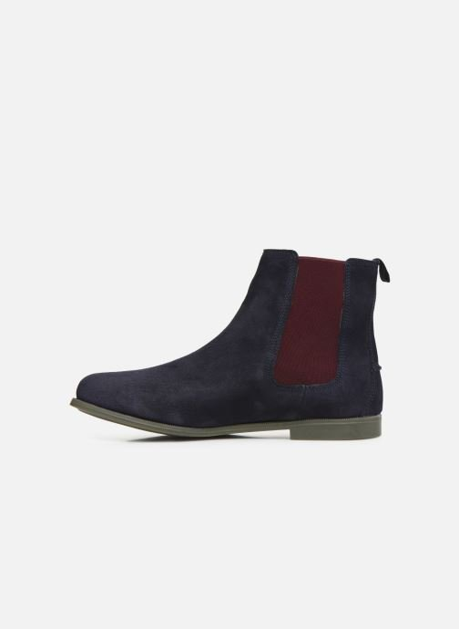 Bottines et boots Sebago Chelsea Plaza Ii Suede W Bleu vue face