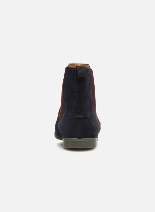 Bottines et boots Sebago Chelsea Plaza Ii Suede W Bleu vue droite