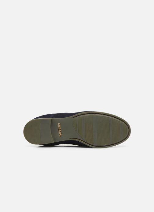 Stiefeletten & Boots Sebago Chelsea Plaza Ii Suede W blau ansicht von oben