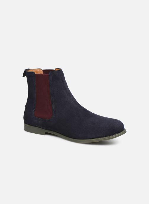 Bottines et boots Sebago Chelsea Plaza Ii Suede W Bleu vue détail/paire