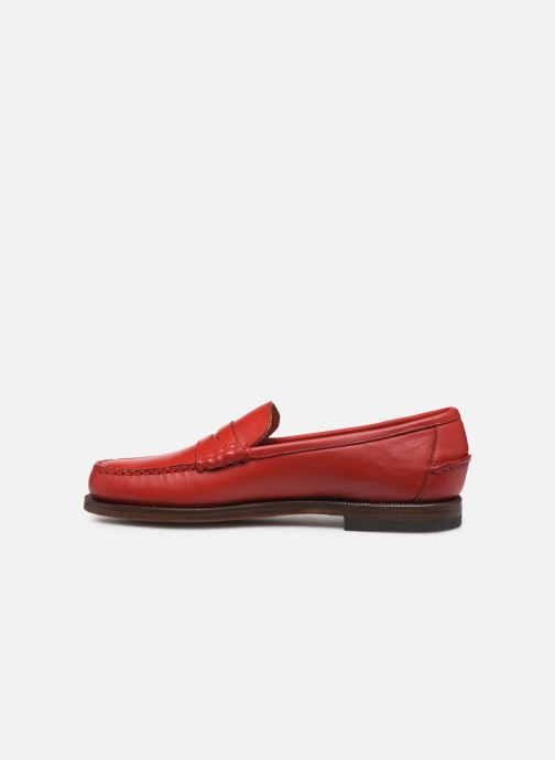 Loafers Sebago Classic Dan Waxy W Red front view