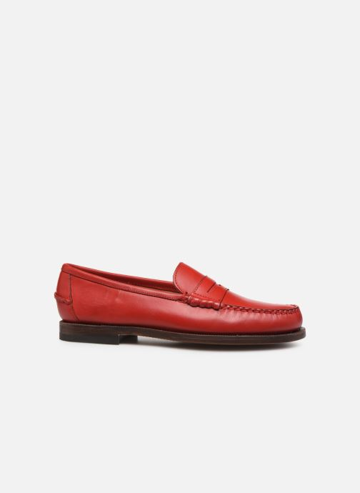 Loafers Sebago Classic Dan Waxy W Red back view